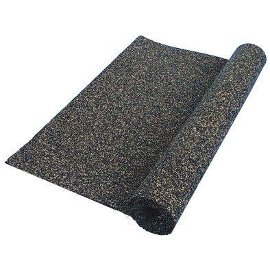Stauf 110280 PUR-gebundenes Kork-Weichschaum Granulat Dämmunterlage, kurz 5 mm, 12.5 m²