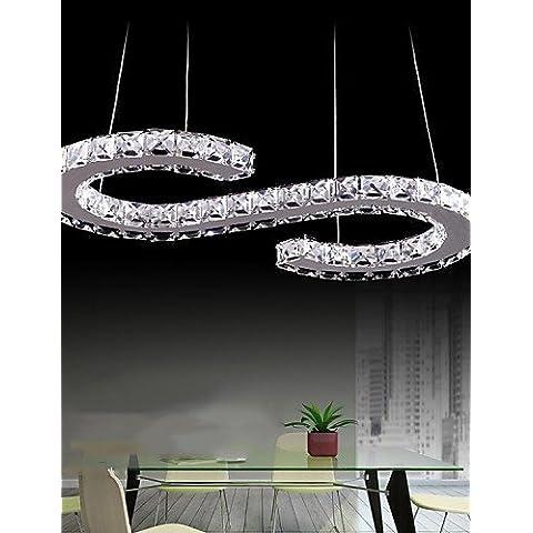 Moda Stile Moderno LED Ombra di cristallo