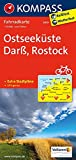 Ostseeküste, Darß, Rostock: Fahrradkarte - GPS-genau - 1:70000 (KOMPASS-Fahrradkarten Deutschland, Band 3019) -
