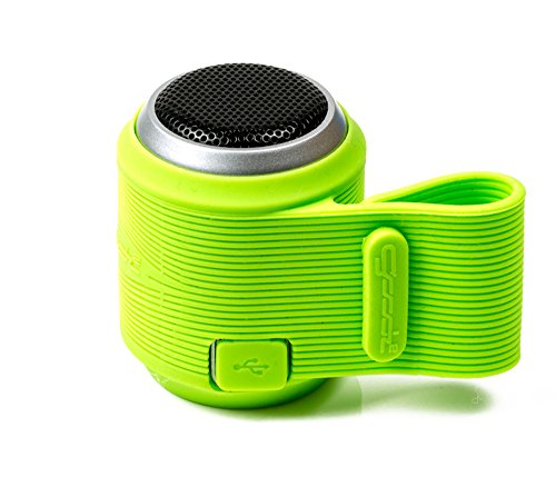 Un altavoz mini de Bluetooth, altavoz portátil inalámbrico compatible con Android, Apple - Verde