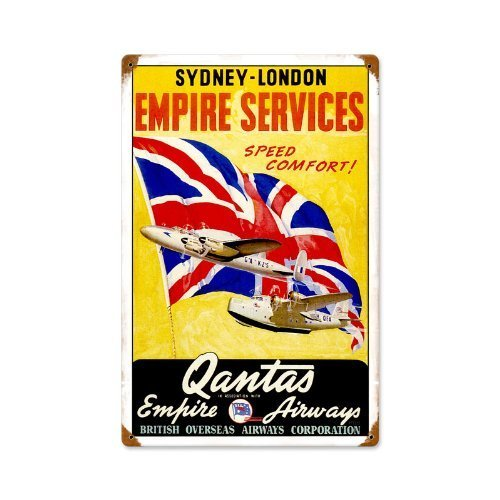 qantas-airlines-ad-home-kitchen-vintage-metal-sign-12-x-18-steel-not-tin-by-the-vintage-sign-store