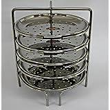 FERUM IDIAPPAM STAND MEDIUM (7X5) SUITABLE FOR-10-LITRE PRESTIGE COOKER,STAND diameter-18cm,height-20cm,PLATE diameter-16cm.