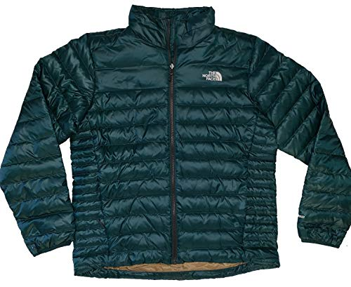 The North Face Men's 550 Flare Standard Fit Goose Down Full Zip Coat Jacket North Face Down Coat