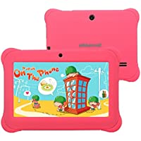 Alldaymall - Tablet para niños de 7 pulgadas, 1GB RAM, 8GB Nand Flash Quad Core, Resolución HD de 10