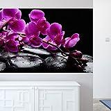 murando - Wand Bilder Deko Panel XXL 150x100 cm Vlies Tapete - Poster - Panoramabilder - Riesen Wandbilder - Dekoration - Design - Fototapete - Wandtapete - Wanddeko - Wandposter Blumen 110806-1