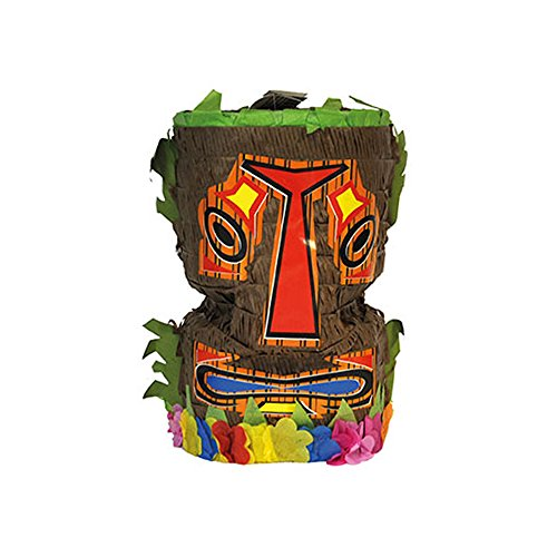 PARTY DISCOUNT Neu Pinata Hawaii Tiki-Maske, ca. 50cm