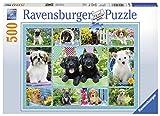 Ravensburger Puzzle 14708 - putzige Hündchen