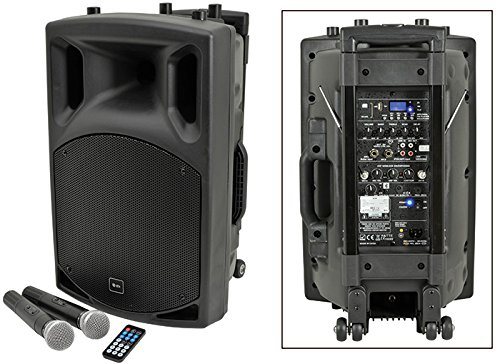QTX qx12Pa Portables PA-KOMPAKTANLAGE mit USB/SD/FM Player & Bluetooth;
