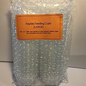 Ersatz Tassen für Reptilien, (Pangea kompatibel)