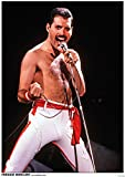 Close Up Queen Poster Freddie Mercury (59,5cm x 84cm)