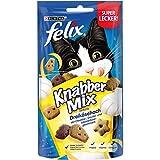 FELIX KnabberMix Katzen-Leckerlis mit Proteinen, Vitaminen & Omega 6,...