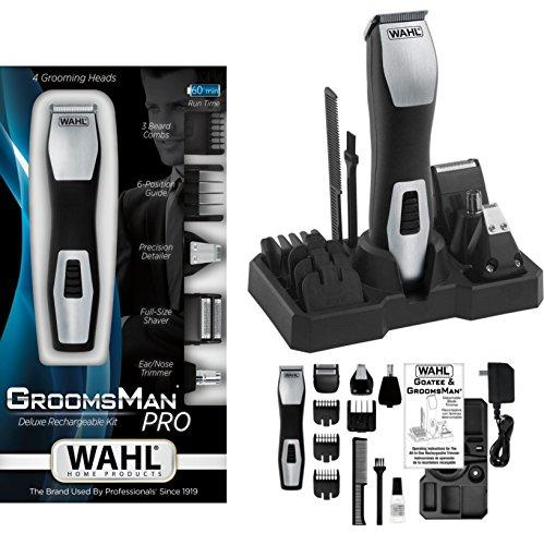 Wahl regolabarba/rasoio elettrico, 4 diversi inserti + accessori, 242484