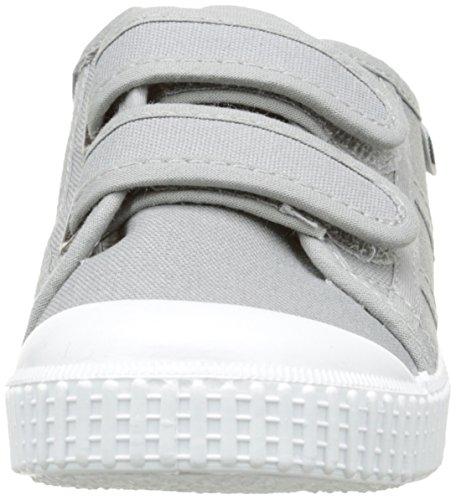 victoria Unisex-Kinder Basket Lona Dos Velcros Sneaker, Weiß, 20 EU Grau - Gris (12 Gris)