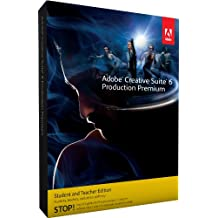 Adobe Creative Suite 6 Production Premium Student and Teacher* MAC