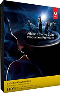 Adobe Creative Suite 6 Production Premium Student and Teacher*