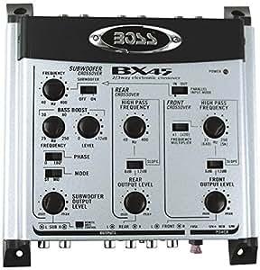 boss audio bx45 filtre actif 2 3 voies gps auto. Black Bedroom Furniture Sets. Home Design Ideas