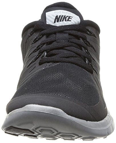 Nike Free 5.0 Flash adulte mixte Noir (Black/Reflect Silver-Wolf Grey)