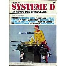 SYSTEME D [No 410] du 01/03/1980 - COMMENT MOTORISER UN TANDEM ET REMPLACER LA CAPOTE D'UNE 2CV - BIENTOT LE PRINTEMPS - CONSTRUISEZ VOTRE PISCINE - LA CAGE AUX ECUREUILS POUR LES ENFANTS ET UNE REMORQUE DE JARDIN - LE PLAN D'UN BUREAU AMERICAIN.