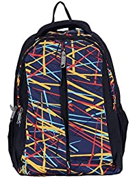982a1a48b1 Creation Polyster Backpack College Bag College Backpack Bag In Multi Color  - B078HFWB7W