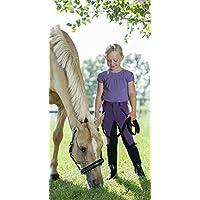 USG United Sportproducts Equitación para Niños Taylor, unisex, marine/rauchblau