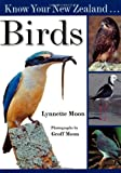 Front cover for the book New Zealand Birds by Geoff Moon