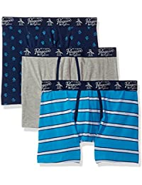 Original Penguin Men's Boxer Briefs Pack of 3