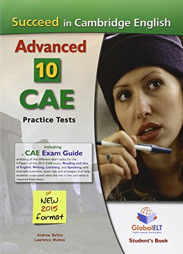 Succeed in the Cambridge CAE. 10 practice tests. Student's book. Per le Scuole superiori. Con espansione online