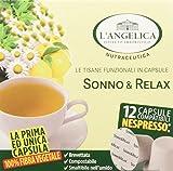 L'Angelica Tisana Sonno & Relax - Pacco da 5 x 18 g
