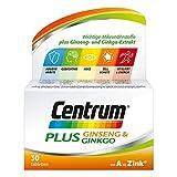 Centrum Plus Ginseng & Ginkgo Tabletten 30 stk