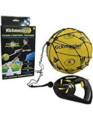 Kickmaster Close Football Control Shoot Pass Trainer Soccer Skills Practice Set