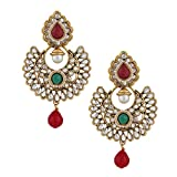 Extensive kundan with touch of pearl and...