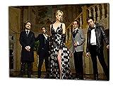Big Bang Theory, Format: 100x70 Bild auf Leinwand gespannt, Leinwandbild, 1A Qualität zu 100% Made in Germany! Kein Poster Kein Plakat! Echtholzrahmen mit beigelieferten Zackenaufhängern. Fertig bespannt, Sofort dekorieren. Vier verschiedene Formate.