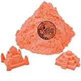 #7: AsianHobbyCrafts Kinetic Sand for Sand Modeling, Kids Activities, DIY Crafts : 980g : Orange
