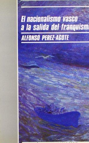 Portada del libro El nacionalismo vasco a la salida del franquismo (Monografías)