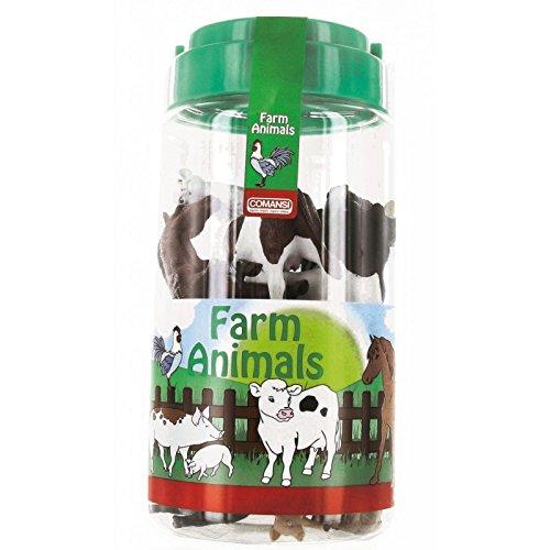 Comansi - Animales Granja 14 Animales En Tubo 20-97007