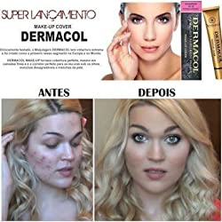 Dermacol Make - Up Cover Waterproof Hypoallergenic SPF 30 #208 by Dermacol ( Cover All Ance Scar and Tattoo) by Dermacol