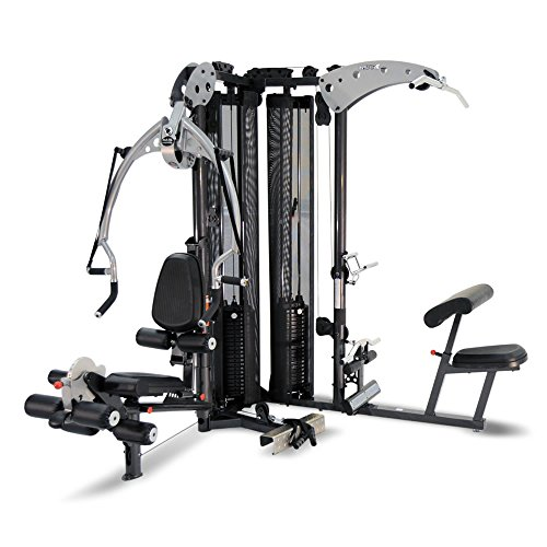 51H10k%2BjGjL. SS500  - Inspire Fitness M5 Multi Gym - Fitness, Workout, Strengthen Muscle, Gym, Home, Aluminium, Revolving Lat Bar, L Shape Design, Commercial Use, Isolation Movements, Heavy Duty Tubular Steel Frame, Maintenance Free, Abdominal Bar
