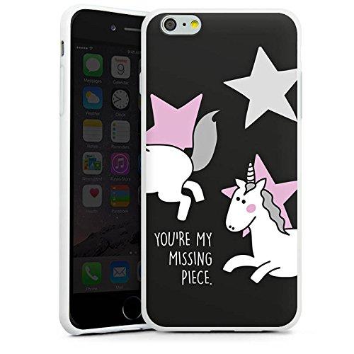 Apple iPhone X Silikon Hülle Case Schutzhülle Freundschaft Geschenk Valentine s Silikon Case weiß
