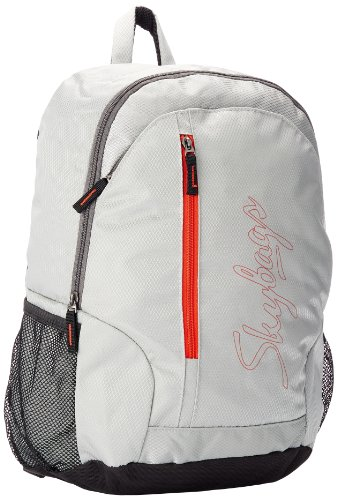 Skybags Pulse PVC Grey Casual Backpacks (PULS03GRY)
