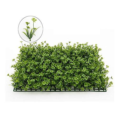 Topiary Hedge Pflanze Privatsphäre Zaun Bildschirm Grün Panels Garten Hinterhof Home Decor 23,6