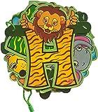 #8: Decoration Craft Happy Birthday Zoo Banner