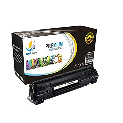 Catch Supplies 85A CE285A P1102w Black Premium Replacement Toner Cartridge Compatible with HP LaserJet Pro P1102 P1100, M1132 M1130, M1212nf M1217nfw Laser Printers |1,600