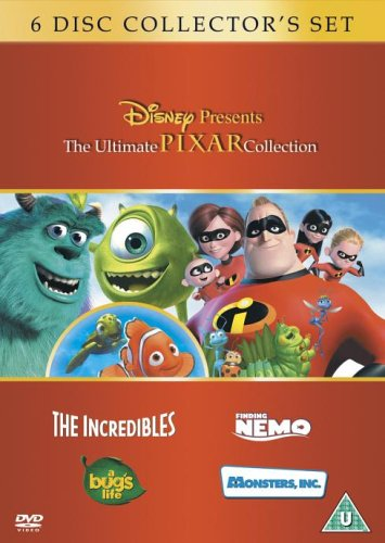 Image of The Ultimate Pixar Collection: The Incredibles, Finding Nemo, Monsters Inc., A Bug's Life [DVD]