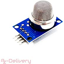AZDelivery MQ de 135 Gas sensor Calidad del Aire Módulo para Arduino 1x ...