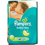 Pampers Baby Sec Taille 4 Maxi 7-18Kg (45)