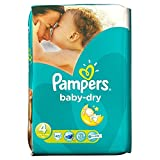 Pampers Baby Dry Taille 4 Maxi 7-18kg (45) - Paquet de 6