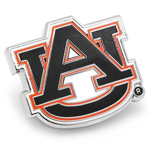 NCAA Silver Plated Lapel Pin NCAA Team: Auburn by Cufflinks
