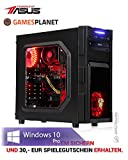 Ankermann ASUS PBA Gamer Gaming Spiele Bundle PC Garanzia di 24 mesi, Ryzen 2600x 6x3.60GHz NVIDIA GTX 1060 GeForce 16GB RAM 240GB SSD 1TB HDD Windows 10 PRO