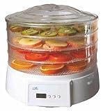 Silva Schneider DA-400 - Deshidratador de frutas, verduras, hongos y hiervas, color blanco