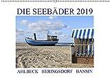 Die Seebäder 2019 (Wandkalender 2019 DIN A2 quer): Impressionen der Kaiserbäder: Ahlbeck, Heringsdorf, Bansin (Monatskalender, 14 Seiten ) (CALVENDO Orte)